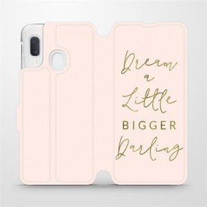 Flipové pouzdro Mobiwear na mobil Samsung Galaxy A20e - M014S Dream a little