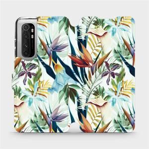 Flipové pouzdro Mobiwear na mobil Xiaomi Mi Note 10 Lite - M071P Flóra