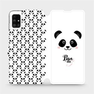Flipové pouzdro Mobiwear na mobil Samsung Galaxy M51 - M030P Panda Amálka