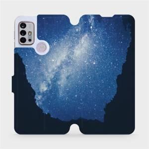 Flipové pouzdro Mobiwear na mobil Motorola Moto G10 - M146P Galaxie