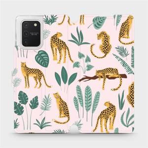 Flip pouzdro Mobiwear na mobil Samsung Galaxy S10 Lite - MP07S Leopardi