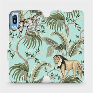 Flip pouzdro Mobiwear na mobil Huawei Y6 2019 - MP08S Dvě kočičky