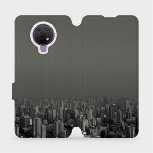 Flip pouzdro Mobiwear na mobil Nokia G10 - V063P Město v šedém hávu