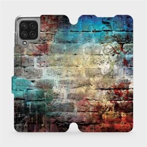 Flip pouzdro Mobiwear na mobil Samsung Galaxy M22 - V061P Zeď