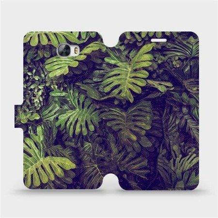 Flipové pouzdro Mobiwear na mobil Huawei Y5 II - V136P Zelená stěna z listů