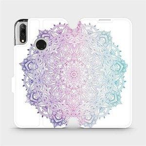 Flipové pouzdro Mobiwear na mobil Huawei Y7 2019 - M008S Mandala