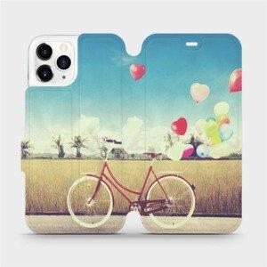 Flipové pouzdro Mobiwear na mobil Apple iPhone 11 Pro - M133P Kolo a balónky