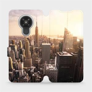 Flipové pouzdro Mobiwear na mobil Nokia 5.3 - M138P New York