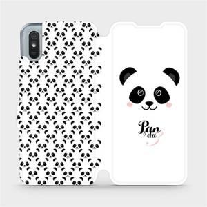 Flipové pouzdro Mobiwear na mobil Xiaomi Redmi 9A - M030P Panda Amálka