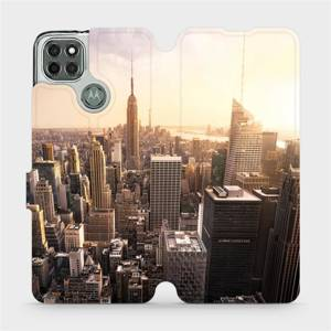 Flipové pouzdro Mobiwear na mobil Motorola Moto G9 Power - M138P New York