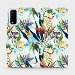 Flipové pouzdro Mobiwear na mobil Vivo Y11S - M071P Flóra