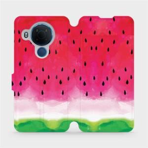 Flipové pouzdro Mobiwear na mobil Nokia 5.4 - V086S Melounek