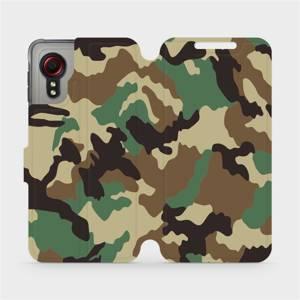 Flipové pouzdro Mobiwear na mobil Samsung Galaxy Xcover 5 - V111P Maskáče