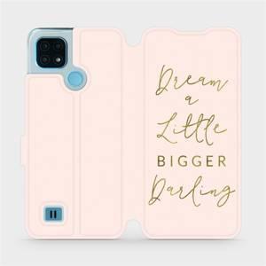 Flip pouzdro Mobiwear na mobil Realme C21 - M014S Dream a little