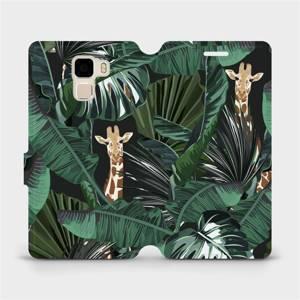 Flip pouzdro Mobiwear na mobil Honor 7 - VP06P Žirafky