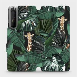 Flip pouzdro Mobiwear na mobil Sony Xperia 1 II - VP06P Žirafky