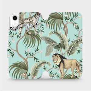 Flip pouzdro Mobiwear na mobil Apple iPhone XR - MP08S Dvě kočičky