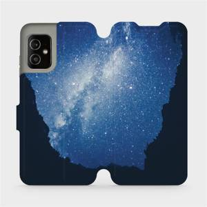 Flip pouzdro Mobiwear na mobil Asus Zenfone 8 - M146P Galaxie