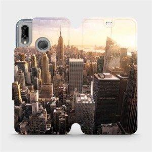 Flipové pouzdro Mobiwear na mobil Huawei P20 Lite - M138P New York