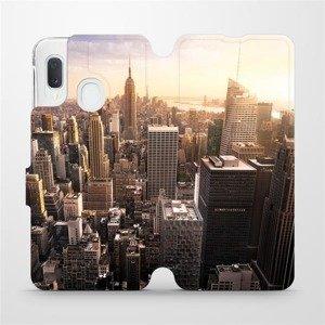 Flipové pouzdro Mobiwear na mobil Samsung Galaxy A20e - M138P New York