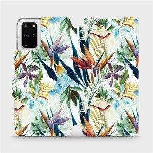 Flipové pouzdro Mobiwear na mobil Samsung Galaxy S20 Plus - M071P Flóra