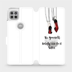 Flipové pouzdro Mobiwear na mobil Motorola Moto G 5G - M046P Be yourself