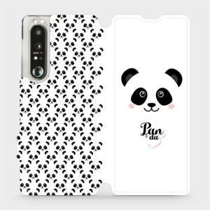 Flip pouzdro Mobiwear na mobil Sony Xperia 1 III - M030P Panda Amálka