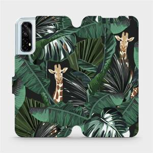 Flip pouzdro Mobiwear na mobil Realme 7 - VP06P Žirafky