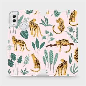 Flip pouzdro Mobiwear na mobil Honor 10 Lite - MP07S Leopardi
