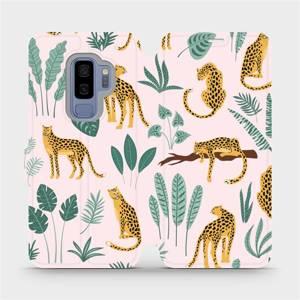 Flip pouzdro Mobiwear na mobil Samsung Galaxy S9 Plus - MP07S Leopardi