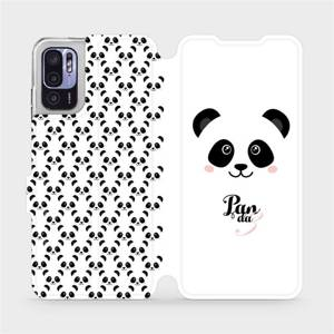 Flip pouzdro Mobiwear na mobil Xiaomi Redmi Note 10 5G - M030P Panda Amálka