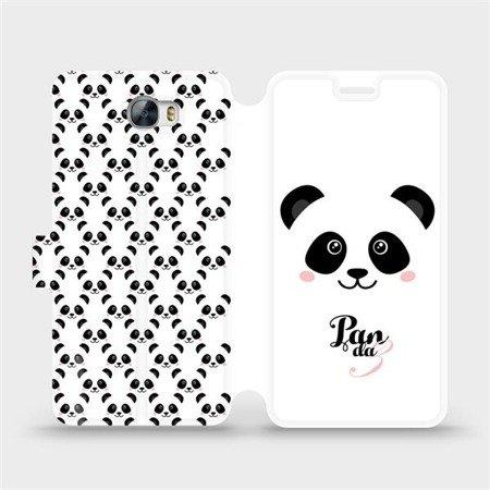 Flipové pouzdro Mobiwear na mobil Huawei Y6 II Compact - M030P Panda Amálka
