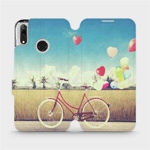 Flipové pouzdro Mobiwear na mobil Huawei Y7 2019 - M133P Kolo a balónky