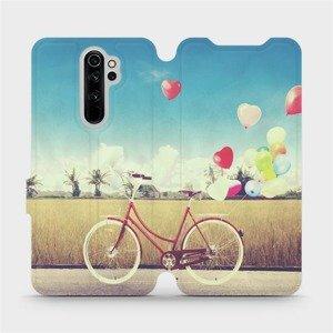 Flipové pouzdro Mobiwear na mobil Xiaomi Redmi Note 8 Pro - M133P Kolo a balónky