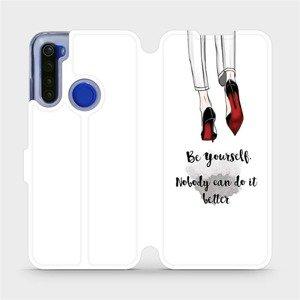 Flipové pouzdro Mobiwear na mobil Xiaomi Redmi Note 8T - M046P Be yourself