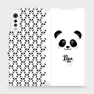 Flipové pouzdro Mobiwear na mobil LG Velvet - M030P Panda Amálka