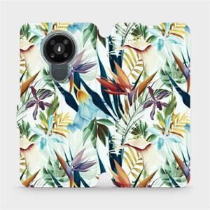 Flipové pouzdro Mobiwear na mobil Nokia 3.4 - M071P Flóra