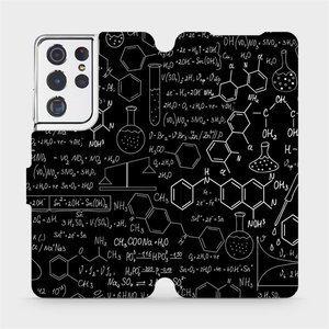 Flipové pouzdro Mobiwear na mobil Samsung Galaxy S21 Ultra 5G - V060P Vzorečky