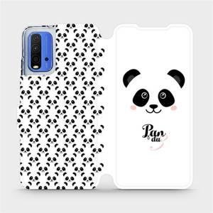 Flipové pouzdro Mobiwear na mobil Xiaomi Redmi 9T - M030P Panda Amálka