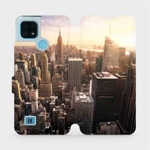 Flip pouzdro Mobiwear na mobil Realme C21 - M138P New York