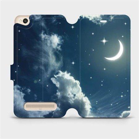 Flipové pouzdro Mobiwear na mobil Xiaomi Redmi 4A - V145P Noční obloha s měsícem