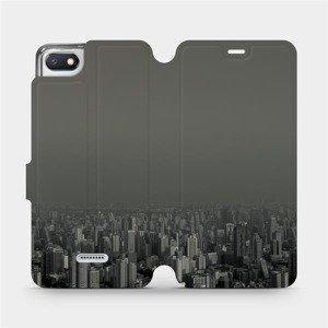 Flipové pouzdro Mobiwear na mobil Xiaomi Redmi 6A - V063P Město v šedém hávu