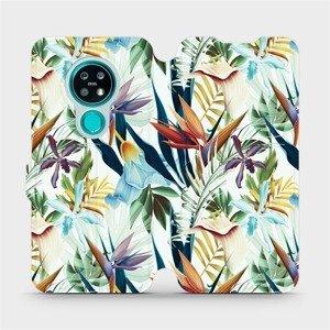 Flipové pouzdro Mobiwear na mobil Nokia 7.2 - M071P Flóra