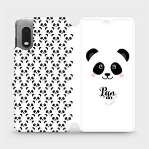 Flipové pouzdro Mobiwear na mobil Samsung Xcover PRO - M030P Panda Amálka