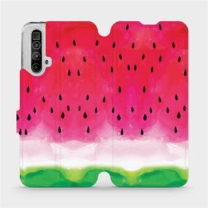 Flipové pouzdro Mobiwear na mobil Realme X3 SuperZoom - V086S Melounek