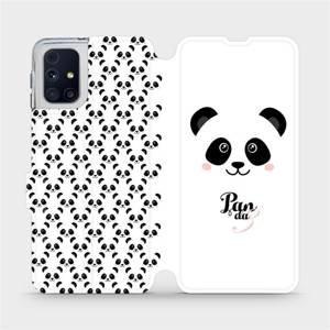 Flipové pouzdro Mobiwear na mobil Samsung Galaxy M31s - M030P Panda Amálka