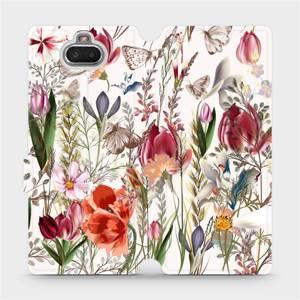 Flip pouzdro Mobiwear na mobil Sony Xperia 10 - MP01S Rozkvetlá louka