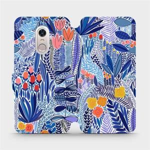 Flip pouzdro Mobiwear na mobil Xiaomi Redmi 5 Plus - MP03P Modrá květena