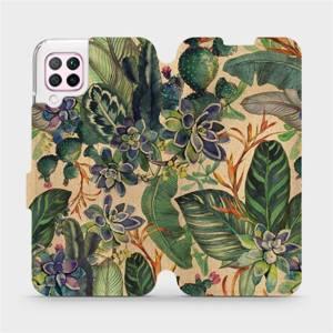 Flip pouzdro Mobiwear na mobil Huawei P40 Lite - VP05S Sukulenty