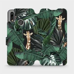 Flip pouzdro Mobiwear na mobil Huawei P Smart 2019 - VP06P Žirafky